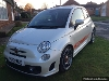 Picture Abarth 500 1.4 16V T-Jet in Funk White with Red...